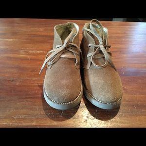 Crewcuts brown desert boots boys 3